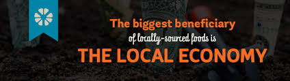 locally sourced food benefits the economy
