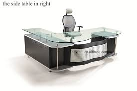 modern glass office desk. Modern Office Furniture Design Glass Desk YH029