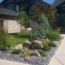 Small Picture Attractive driveway landscaping for a small front yard This low