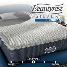 Beautyrest mattress Frame Raymour Flanigan Simmons Beautyrest Merritt Silver Hybrid Firm King Mattress Set