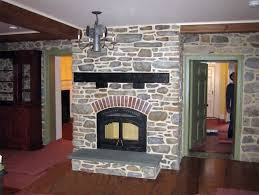 Hale kitchen fireplace after