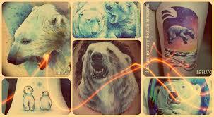 значение тату белый медведь фото рисунков эскизы смысл факты