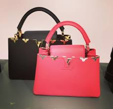 louis vuitton bags 2017 black. louis vuitton black and red with gold embellishments capucines bags - pre-fall 2017