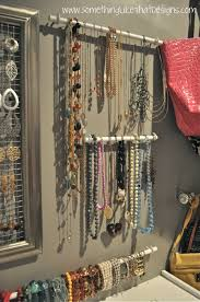 Jewelry Wall Organizer How To Jewelry Wall Part 2 Something Like That Designs