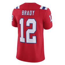Tom Tom Brady Red Jersey Brady