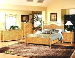 Rattan Bedroom Furniture White Wicker Bedroom Set Wicker Bedroom ...