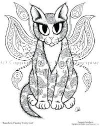 Cat Coloring Pages Printable Free Coloring Cat Pictures Free