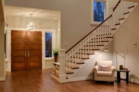 modern foyer light