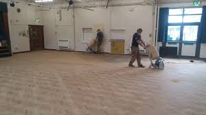 Community Centre Parquet Floor Restoration 6