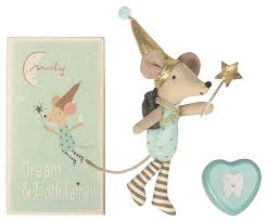 Tooth Fairy Big Brother Mouse - Maileg USA