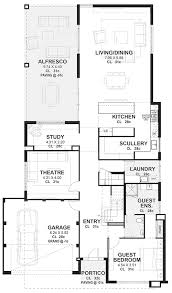 kitchen floor plans with scullery 15m wide home plans designs perth novus homes