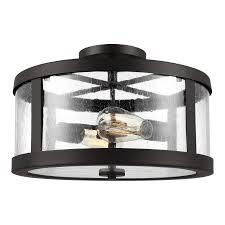 harrow semi flush ceiling light by feiss