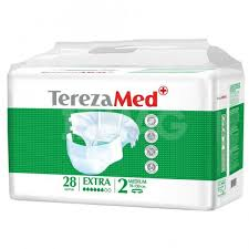<b>Подгузники</b> для взрослых <b>TerezaMed</b> Extra (2) <b>Medium</b> (28 шт ...