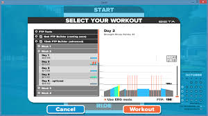 zwift s new workout mode first workout overview
