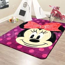 amazing minnie mouse rugs for mouse kids fun play rug non slip licensed new 16 minnie