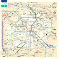 Plan De Paris Ratp