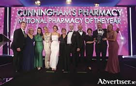 Advertiser.ie - Cunninghams Pharmacy Monksland attains major award
