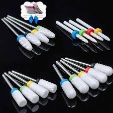 Milling Cutter For Manicure <b>Ceramic Mill Manicure Machine</b> Set ...