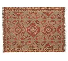damen synthetic kilim rug warm multi pottery barn pottery barn kilim rug 9x12