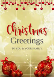 Free Christmas Greetings Customize 1 590 Christmas Cards Design Templates Postermywall