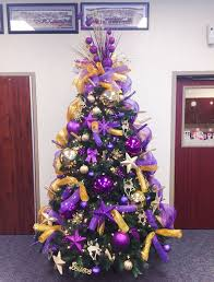 christmas trees decorated purple. Another Elegant Christmas Tree With The Splash Of Gold And Purple Deco Mesh Totally Rock This Green Trees Decorated