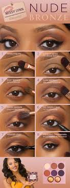 browneyemakeup black woman makeup tutorial black eyeshadow tutorial