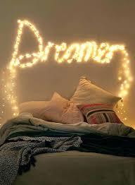 girls room lighting teen bedroom string lights dream sparkle for a in ceiling light arrester
