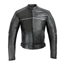 rida tec gt leather motorcycle jacket