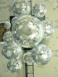 disco ball ceiling light fixture fan kit