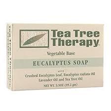 Tea Tree Therapy <b>Eucalyptus Soap</b> Vegetable Base, <b>3.5 Ounce</b>