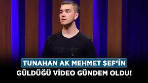 Tunahan Ak kimdir, nereli? Masterchef Tunahan Ak Mehmet Yalçınkaya'yı  güldüğü video gündem oldu! - Haberler - Diriliş Postası