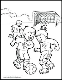 Soccer Coloring Pages Printable Soccer Coloring Pictures S S S