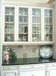 frosted glass for kitchen cabinet doors cabinets etched designs g frosted glass cabinet door inserts kitchen