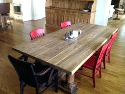 antique oak dining table and chairs sets white round room for