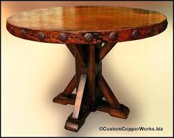 x base round dining table wood base for dining table round copper top dining table copper x base round dining table