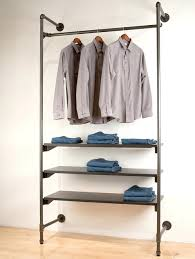 diy clothes rack furniture wardrobes view in gallery pipe garment rack pipe clothing within pipe garment