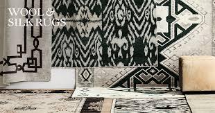 silk wool rugs