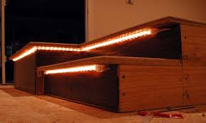 Home theater step lighting Commercial Stair Lighting Home Theater Pinterest Stair Lighting Home Theater Home Bar In 2019 Home Theater Home