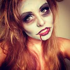 simple zombie makeup step by