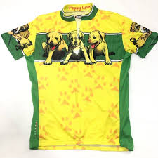 Primal Wear Puppy Love Cycling Jersey Size Large