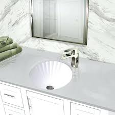 12 inch deep bathroom vanity sink collection round white with scalloped basin sin