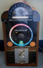 Starscroll Horoscope Vending Machine New StarScroll COIN OP Horoscope Vending Machine 48
