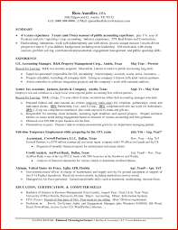 Branch Manager Resume Examples Awesome Accounting Manager Sample