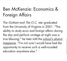 Ben McKenzie News on Twitter: