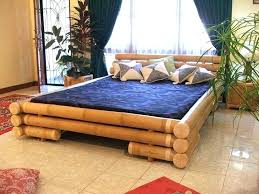 thread count bamboo sheets vanilla cream bed frame indoor diy futon for pertaining to prepare bamboo bed frame