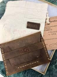 personalized men s wallet front pocket wallet thin leather wallet men s wallet handmade