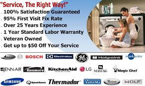 Ge Dishwasher Repair Service Ge Oven Repair Richmonds 1 Appliance Repair Service