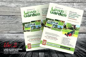landscaping templates free free landscape brochure template interestor co