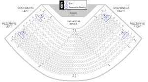 New Jersey Performing Arts Center Seating Chart Seating Charts Stockton Performing Arts Center