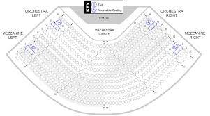 Seating Charts Stockton Performing Arts Center